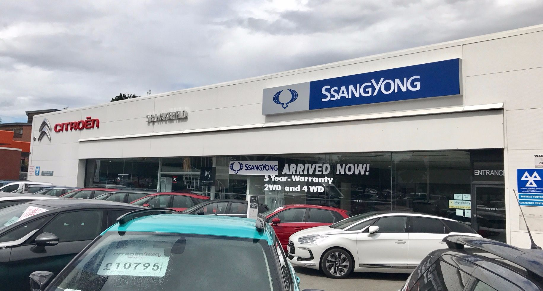 SSANGYONG APPOINTS NEW DEALER FOR WAKEFIELD •	SB Wakefield joins the SsangYong network •	Six model range all backed by a 5-year limitless mileage warranty