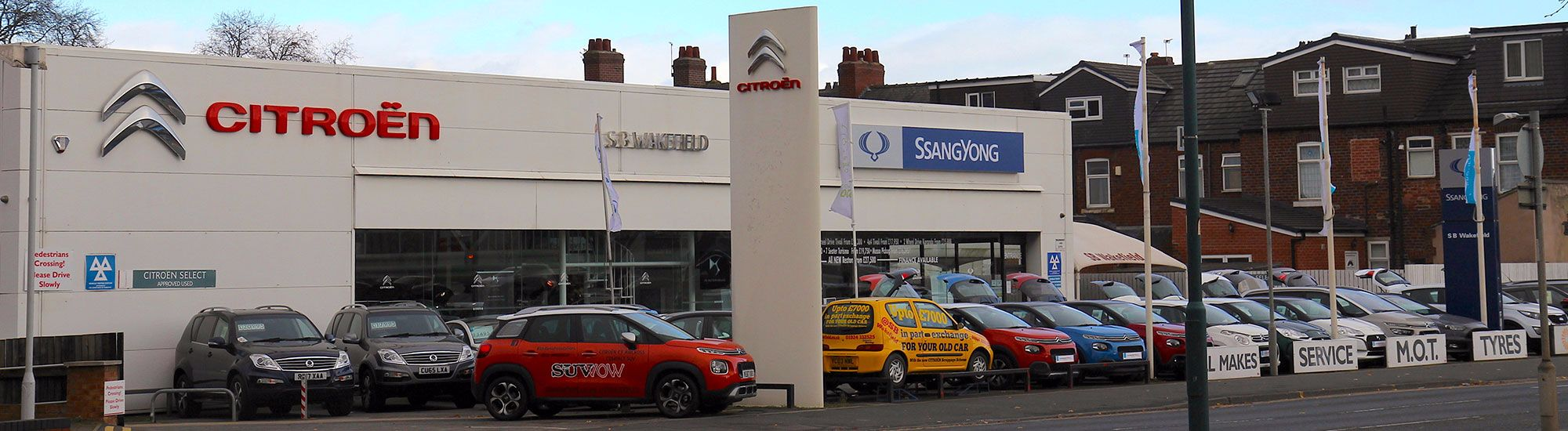 Who we are at SB Wakefield SsangYong