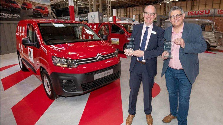 CITROËN WINS VAN OF THE YEAR AND CLAIMS TWO FURTHER PRIZES IN THE TRADE VAN DRIVER MAGAZINE AWARDS 2019