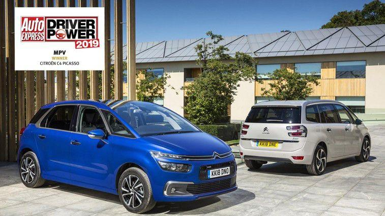 CITROËN C4 PICASSO CROWNED 'BEST MPV' IN 2019 DRIVER POWER SURVEY, AS VOTED BY UK MOTORISTS