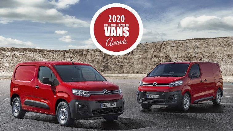 Citroën Berlingo Van and Dispatch Win Big In the 2020 Business Vans Awards