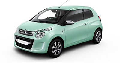 Citroen C1 - Available In Pacific Green