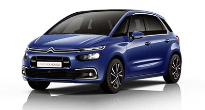 Citroen C4 Spacetourer - Available In Lazuli Blue