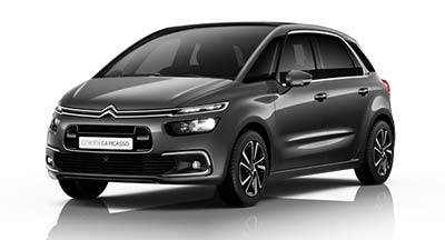 Citroen C4 Spacetourer - Available In Platinum Grey