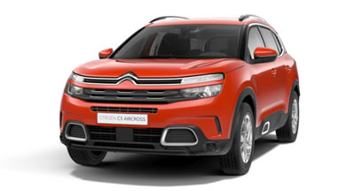 Citroen C5 Aircross Suv - Available In Volcano Red