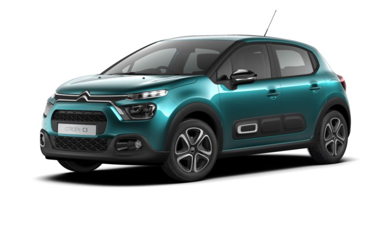 Citroen New C3 - Available In Spring Blue Metallic
