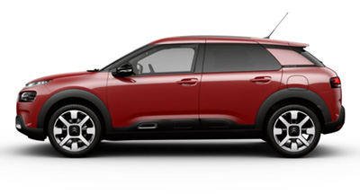 Citroen C4 Cactus - Available In Sport Red