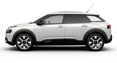 Citroen C4 Cactus - Available In White Pearlescent