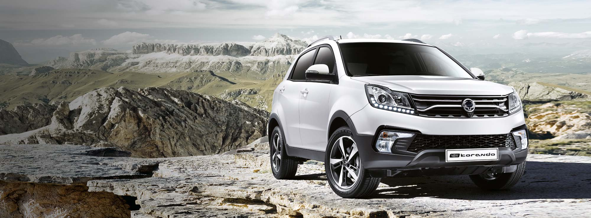 <strong>Korando From £17,495</strong>